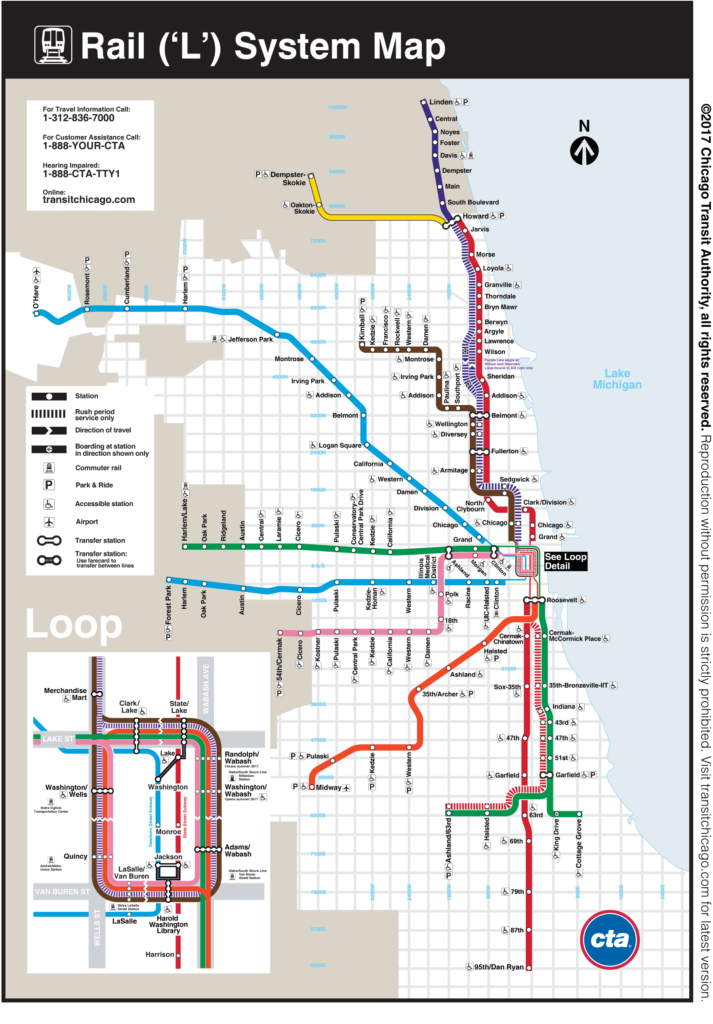 Chicago transportation System Crafty Dutch Girl